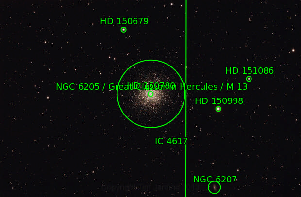 Messier 13 - The Great Cluster in Hercules