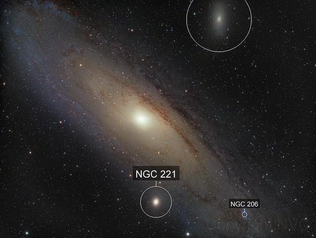 M31 Lum-color picture