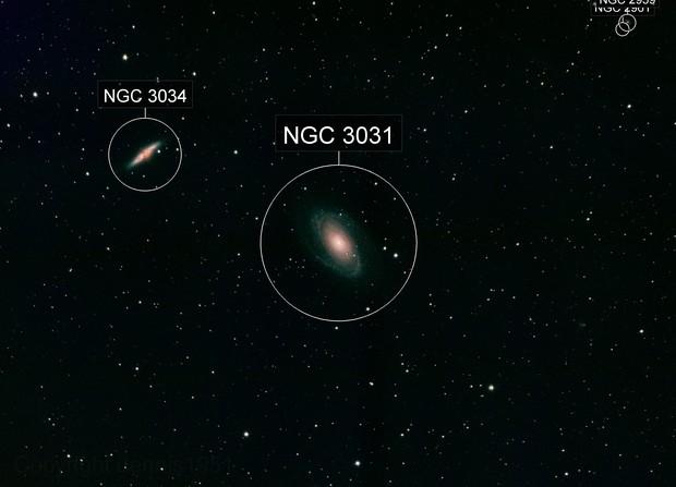 Bode's Nebula