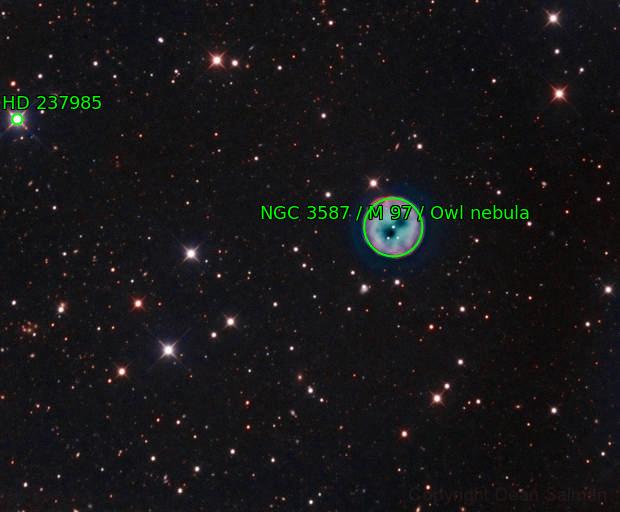 Owl Nebula - Messier 97