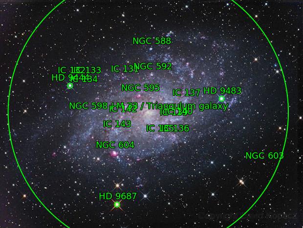 Triangulum Pinwheel Galaxy - M33