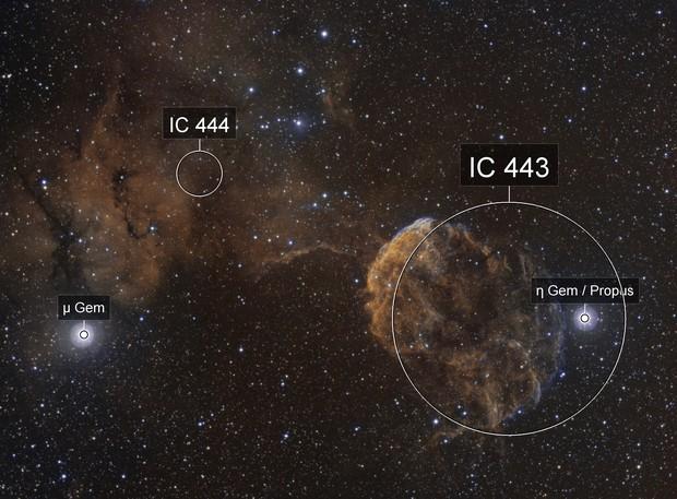 IC443 HOO Blend