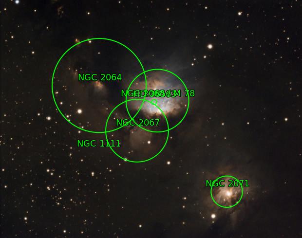 M78, Dusty, Murky, Reflective