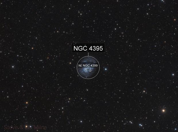 NGC 4395 in Canes Venatici