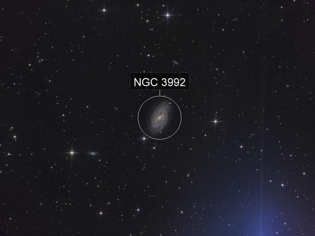 M109 With Star Glow