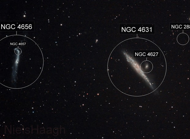 NGC4631 The Whale Galaxy