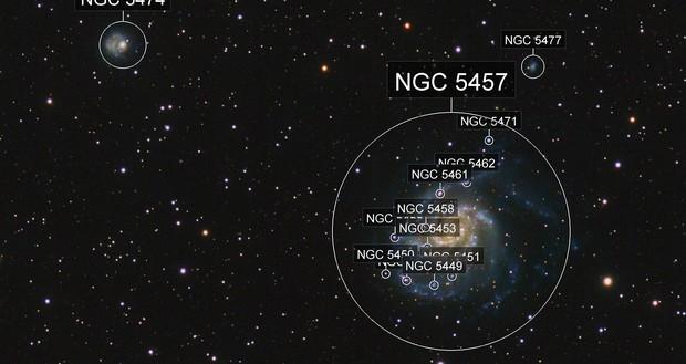 M101 & NGC5474, Canon6Da RGB/QHY16200 Ha combination