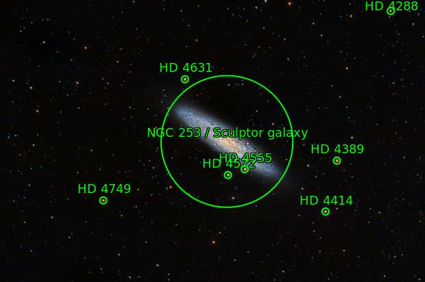 NGC253 Sculptor Galaxy