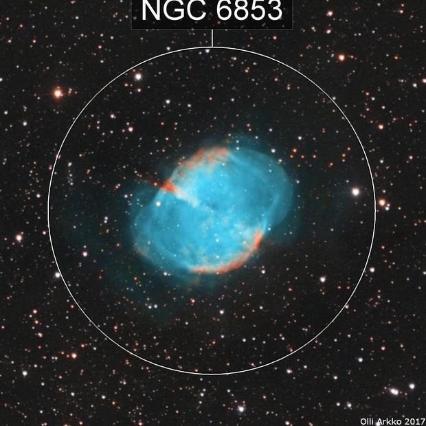 Messier 27 (imaging season opening test)