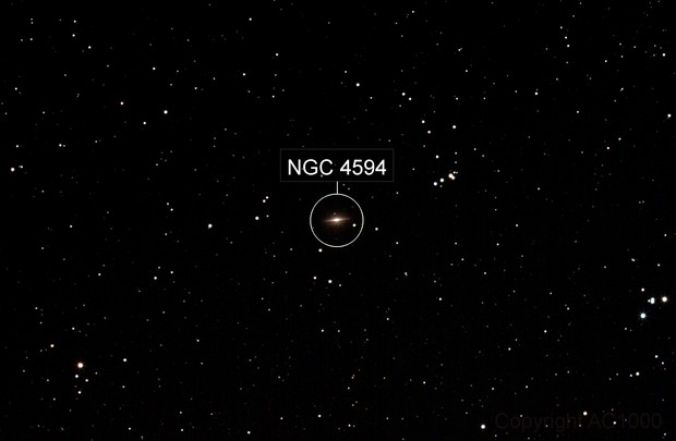 Messier 104 - widefield - II
