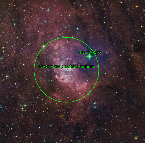 NGC 7635 - Bubble Nebula