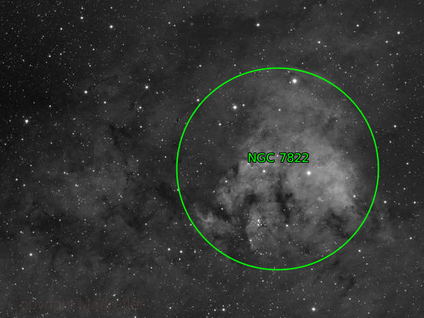 NGC 7822, The Fist