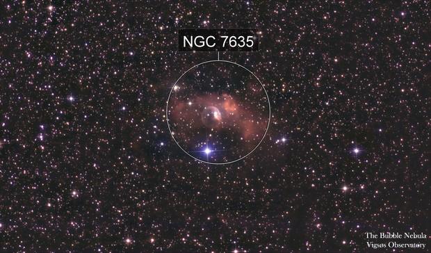 the Bubble Nebula12345