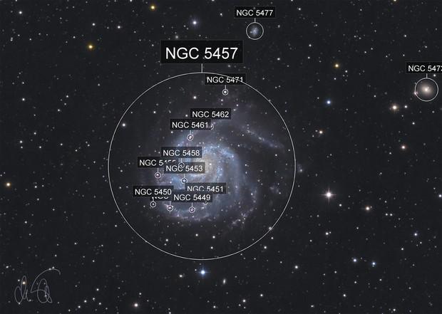 Messier 101 crop