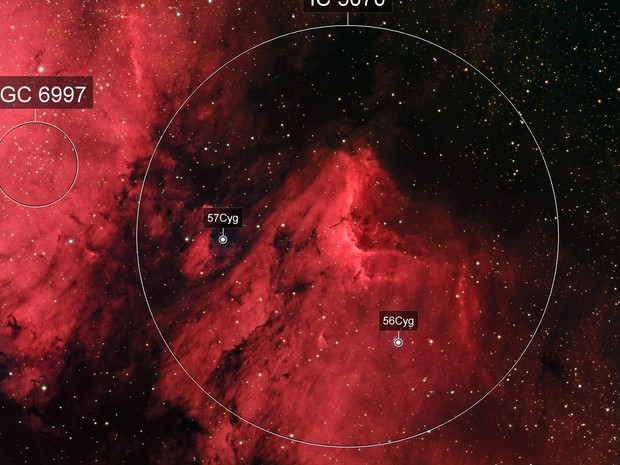 Pelican Nebula HaRGB