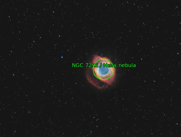NGC 7293 the Helix nebula