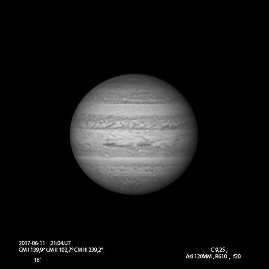 Júpiter 11-06-2017