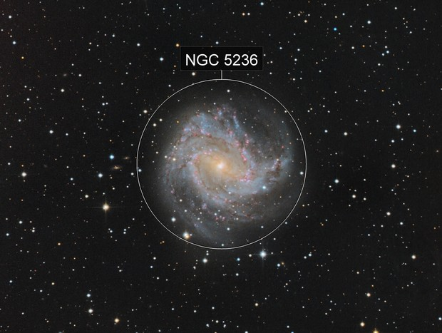 M83: The southern pinwheel.