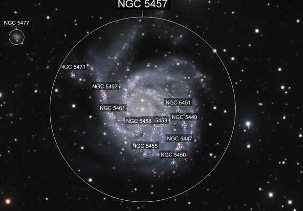 M101 LRGBHa using iTelescope T5 Mayhill NM