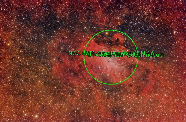 M16 Nebulosa del Aguila