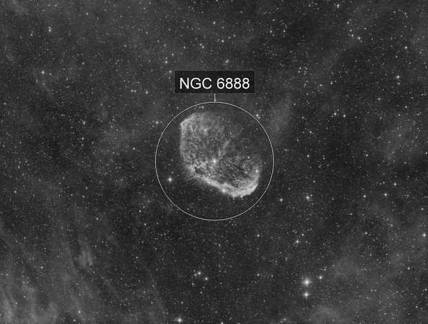 NGC6888 - One Hour Test @ f/4