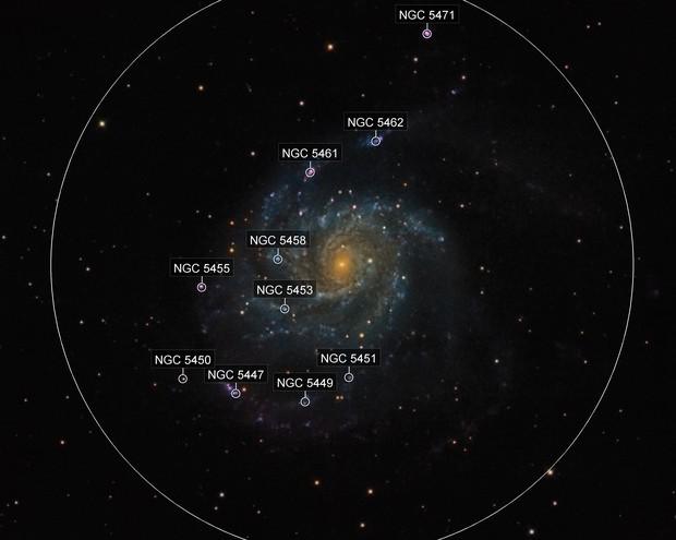 M101 Close up