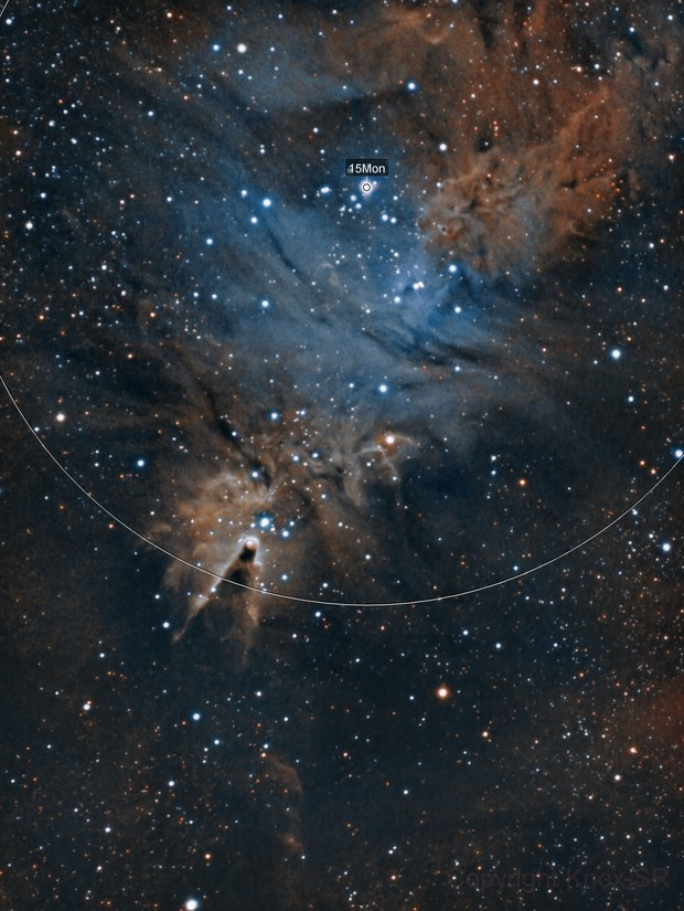 Conus nebula - NGC2264
