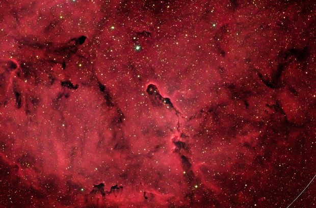IC1396 (Elephant's Trunk Nebula) in HaRRGB