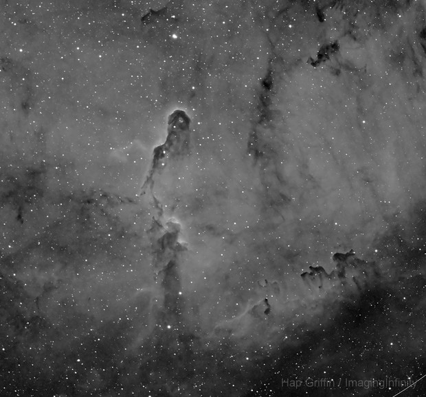 IC 1396a - Elephant's Trunk Nebula