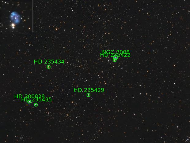 NGC 7008 Fetus Nebula