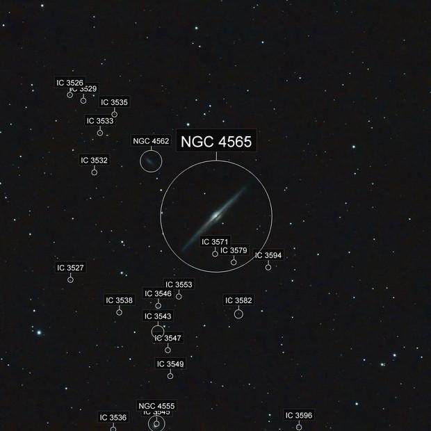 The Needle Galaxy, NGC 4565