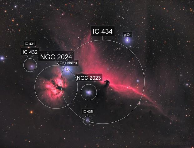 IC434 Horsehead Nebula – 2017