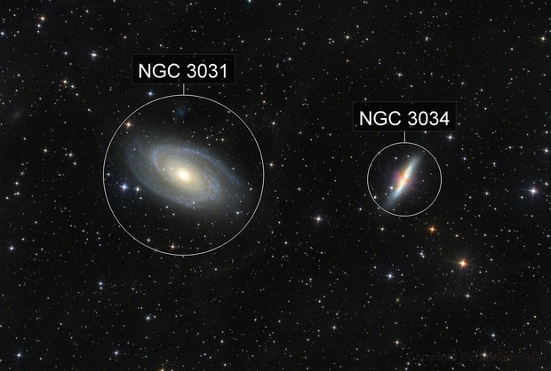 M 81 and M 82