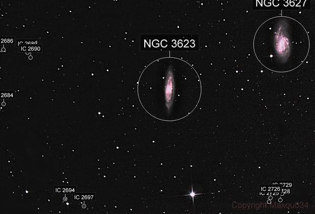 M65-M66 GALAXIES