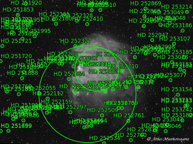 NGC 2174 H-alpha