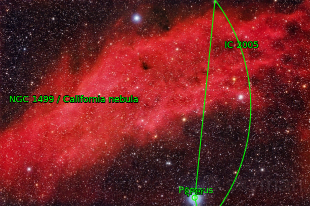 NGC1499 Nebulosa California