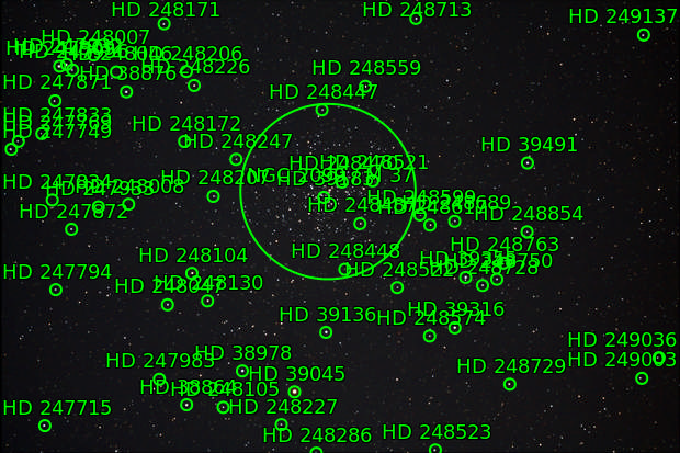 Messier 37 Offener Sternhaufen
