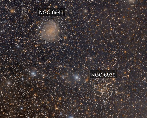 NGC 6946, NGC 6939