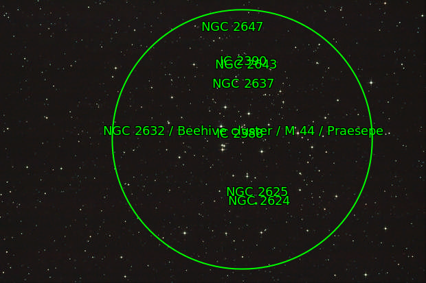 Beehive Cluster M44