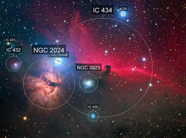 Horsehead Nebula - Deepsky West Data