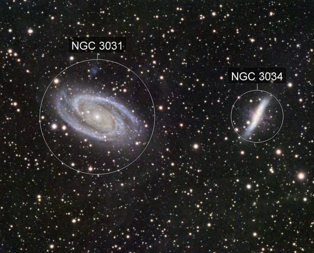 Bode and Cigar Galaxies (M81, M82)