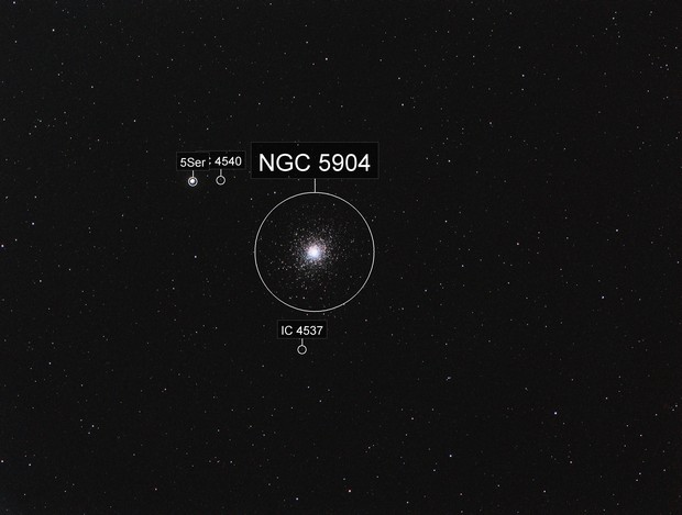 M5 Globular Cluster - 102mm APO