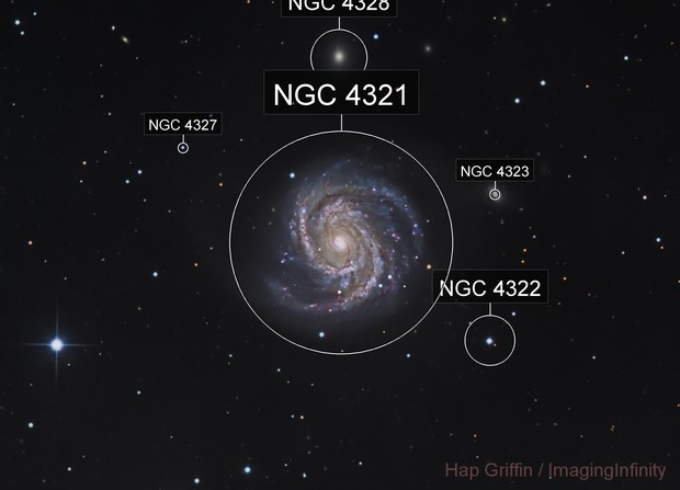 M100 - Spiral Galaxy in Coma Berenices