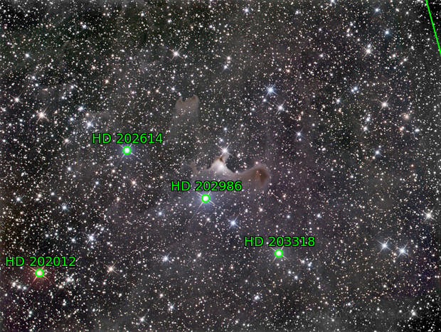 vdB141 Ghost Nebula