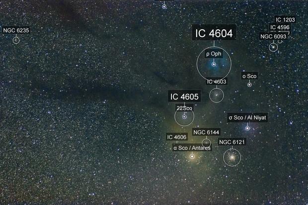 Antares Molecular cloud