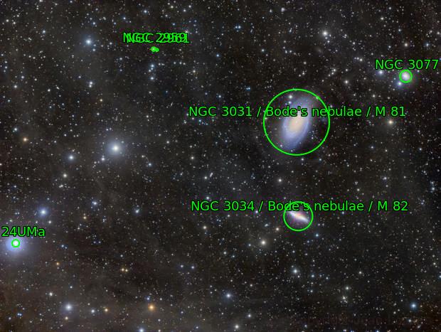 M81-M82 IFN