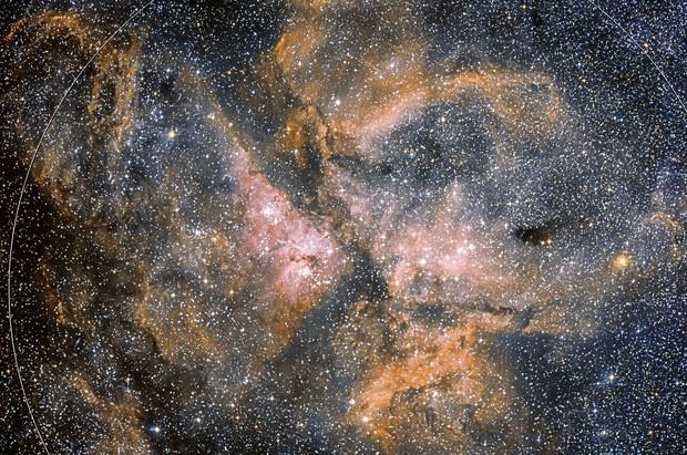 NGC 3372 ETA CARINAE