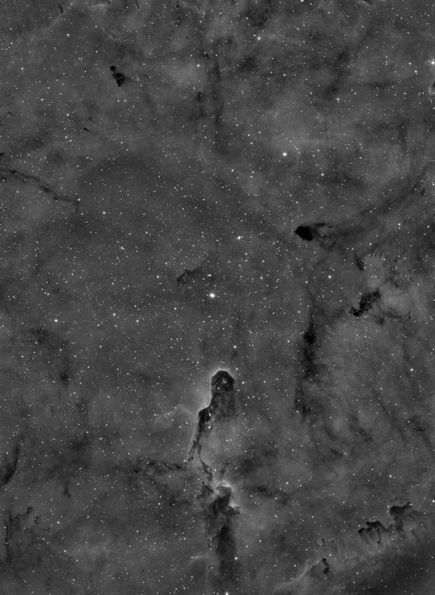 Elephant Trunk IC 1396 3nm Ha, wide field
