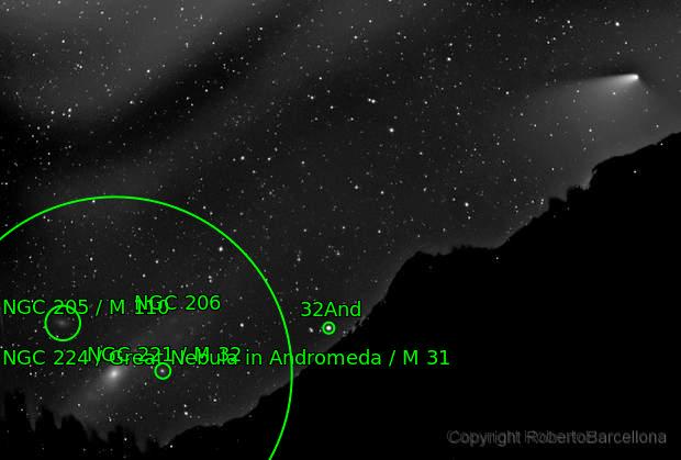 C/2011 L4 Panstarrs & M31