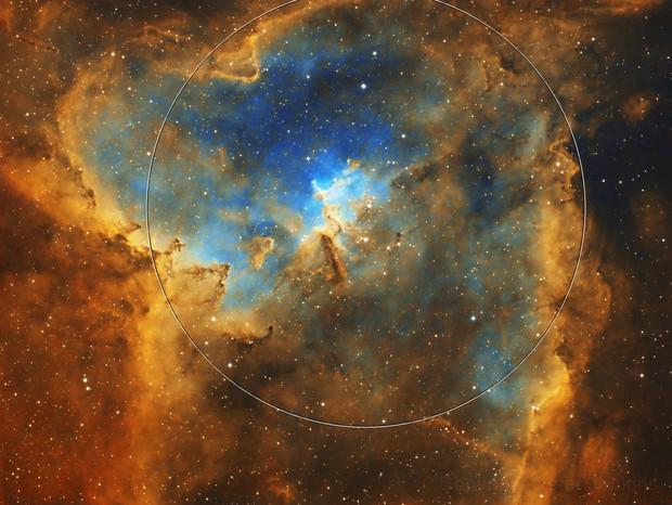 IC1805 Heart Nebula